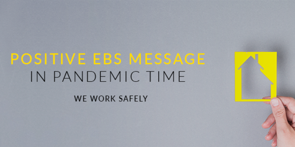 Positive EBS message in the Coronavirus pandemic time
